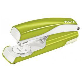 Leitz WOW NEXXT Office Stapler - Green Metal