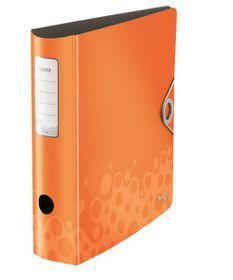 Leitz Bebop A4 Lever Arch Active File 80mm 180 Degree - Orange