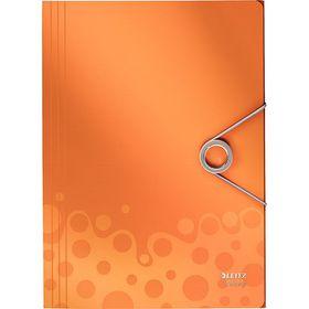 Leitz Bebop 3 Flap Folder A4 - Orange