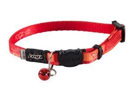 Rogz - KiddyCat 8mm Breakaway Collar - Orange Tango