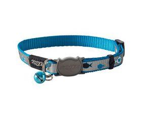 Rogz - oCat 8mm Collar - Blue Fish
