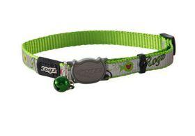 Rogz - oCat 8mm Collar - Lime Fish