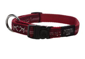 Rogz - Fancy Dress 16mm Dog Collar - Red Heart