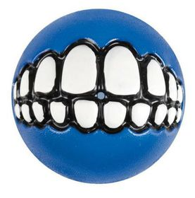 Rogz - Grinz 49mm Dog Treat Ball - Blue