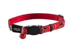 Rogz - FancyCat 11mm Breakaway Collar - Red Ladybird