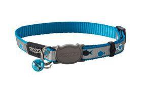 Rogz - oCat 11mm Collar - Blue Fish