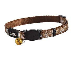 Rogz - SilkyCat 11mm Breakaway Collar - Bronze Filigree