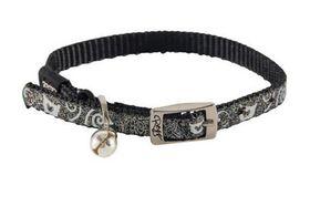 Rogz - SparkleCat 8mm Pin Buckle Cat Collar - Black
