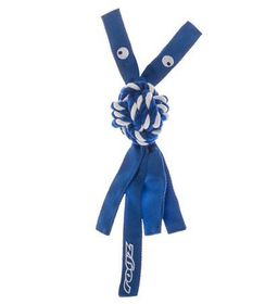 Rogz - Cowboyz Small Dog Knot Chew Toy - Blue