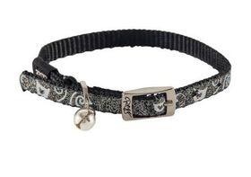 Rogz - SparkleCat 11mm Pin Buckle Cat Collar - Black