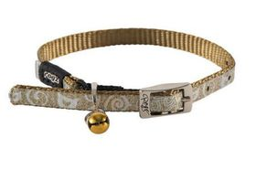 Rogz - SparkleCat 11mm Pin Buckle Cat Collar - Bronze