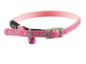 Rogz - SparkleCat 11mm Pin Buckle Cat Collar - Pink