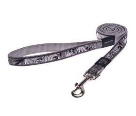 Rogz - Fancy Dress 16mm Fixed Dog Lead - Silver Gecko