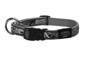 Rogz - Fancy Dress Extra-Large Armed Response Dog Collar - Silver
