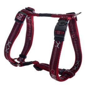 Rogz - Fancy Dress Medium Scooter Dog H-Harness - Red