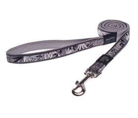 Rogz - Fancy Dress Extra-Large Armed Response Fixed Dog Lead - Grey