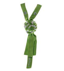 Rogz - Cowboyz Large Dog Knot Chew Toy - Lime