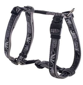 Rogz - Fancy Dress 20mm Dog H-Harness - Silver Gecko
