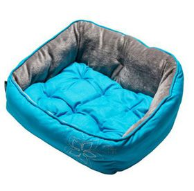 Rogz - Dog Bed 520mm x 380mm x 250mm - Blue Floral
