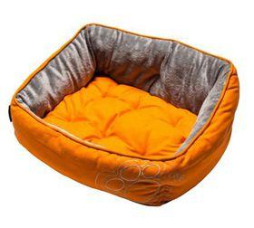 Rogz - Dog Bed 520mm x 380mm x 250mm - Orange Paw