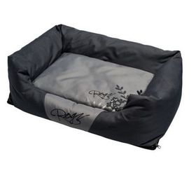 Rogz - Small Spice Pod Cushion Bed - Silver