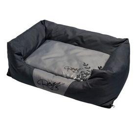 Rogz Medium Spice Pod Medium Cushion Bed - Silver