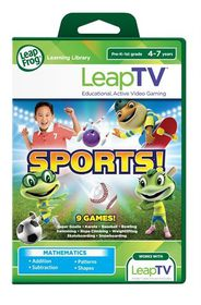 LeapFrog LeapTV Learning Game : Sports