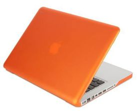 """Moshi iGlaze Pro Retina 13"""" Macbook Cover - Orange"""