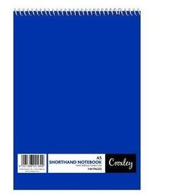 Croxley JD145 144 Page A5 Feint Shorthand Note Book (10 Pack)