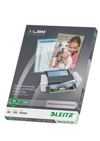 Leitz iLAM UDT Glossy A5 80micron Laminating Pouches (100 Pack)