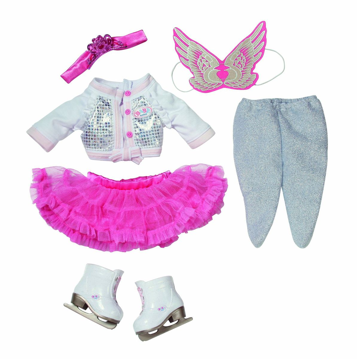 Baby Born Deluxe Ice Skating Princess | Buy Online in ...