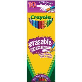 Crayola Erasable Pencils - 10 Piece