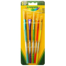 Crayola Paint Brushes - 5 Piece