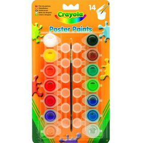 Crayola Poster Paints - 14 Piece