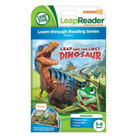 Leap And The Lost Dinosaur Leap Reader Book