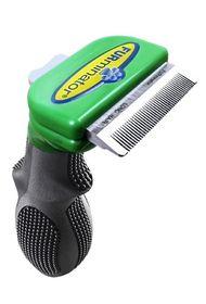 Furminator - Long Hair deShedding Tool For Small Dogs - 8019