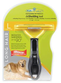 Furminator - Long Hair deShedding Tool For Large Dogs - 8023