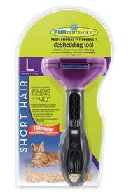 Furminator - Short Hair deShedding Tool For Cats - 8026