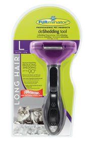 Furminator - Long Hair deShedding Tool For Cats - 8027
