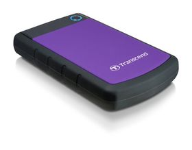 "Transcend 2TB Rugged USB3.0 Hard Drive 2.5"" - Purple"