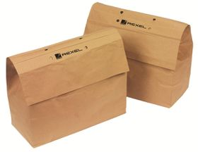 Rexel Recyclable Shredder Paper Bag  - 50L
