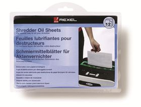 Rexel Shredder Oil Sheets (12 Pack)