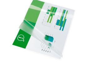 GBC Document Gloss Laminating Pouches - A4 250(2x125)micron (25 Pack)