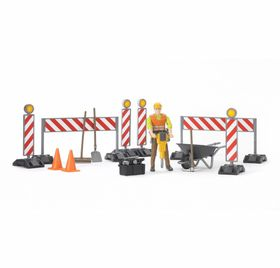 Bruder Construction Figure Set