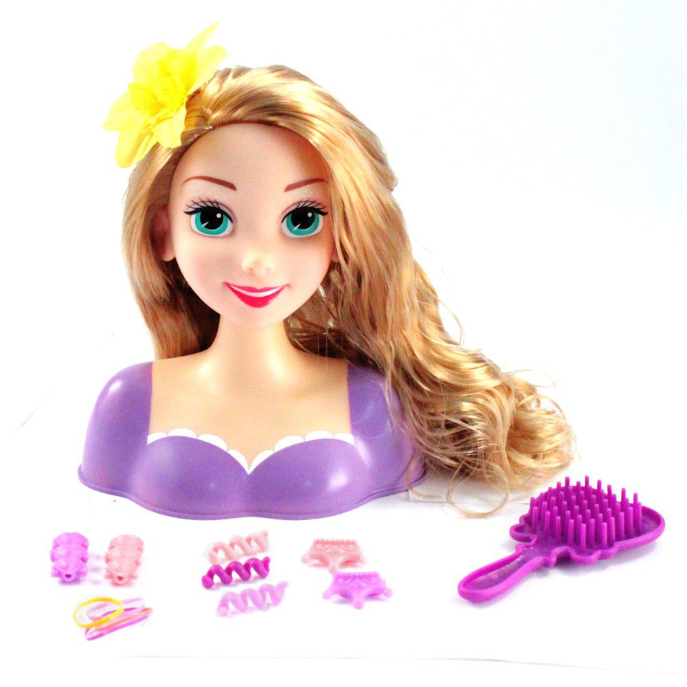 doll heads for styling hair disney princess disney princess styling rapunzel 6156
