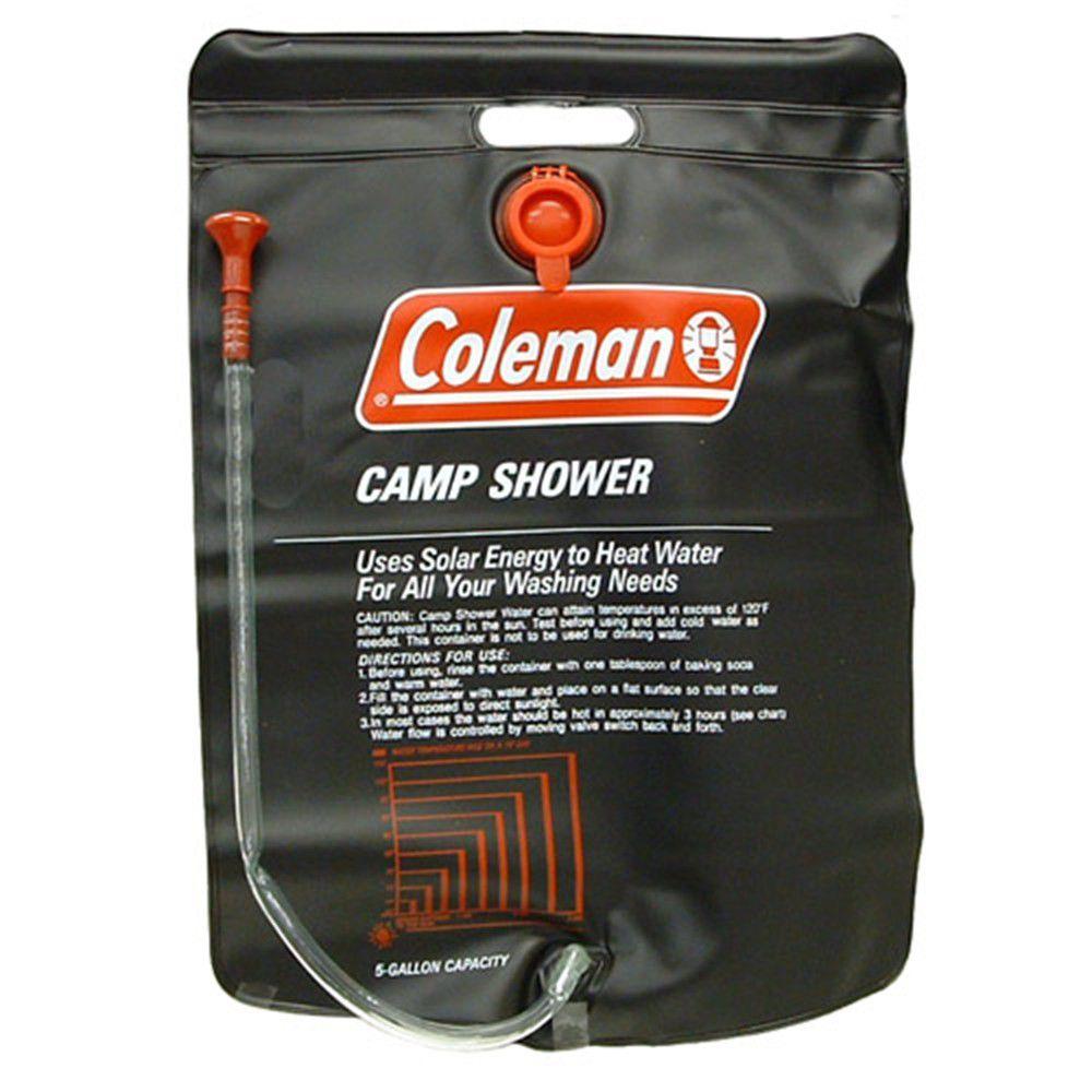 gallon wid coleman shower solar hei camp hero