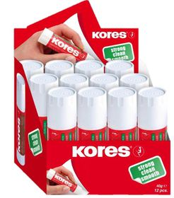Kores Glue Stick 40g - Box of 12
