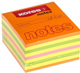 Kores Cubo Notes - Summer Colours  (450 Sheets)
