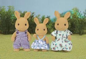 Sylvanian Family Ocher Rabbit Familly