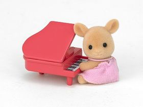 Sylvanian Family Deer Baby with Piano